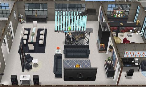 Gatsby Penthouse by Yours Truly | Sims house, Sims house