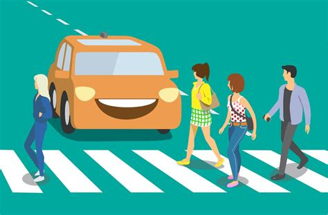 Self-driving cars and humans face inevitable collisions