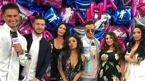 VMA Arrivals: The Cast Of Jersey Shore: Family Vacation