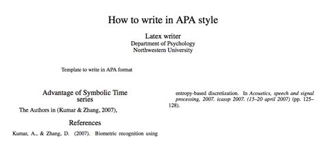 bibliographies - Unable to cite in text APA style
