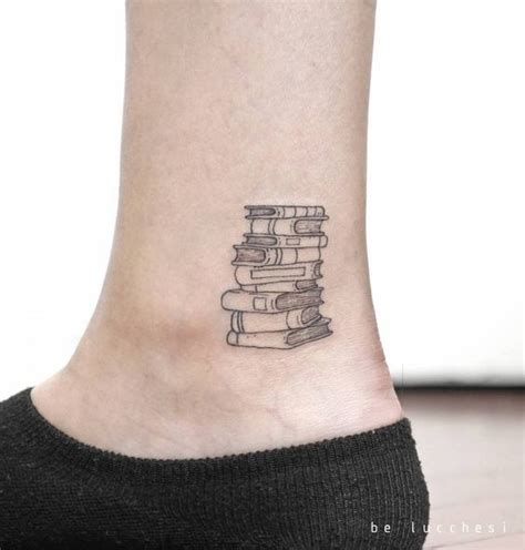 Book Mad - Little Tattoo Ideas That Are Perfect For Your