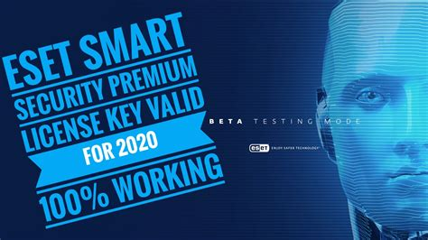 Eset Smart Security 10-11 Premium With License Key Till To