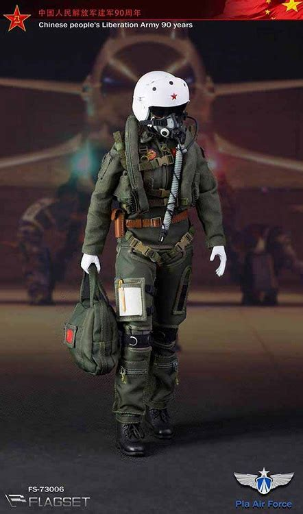 Chinese PLA Air Force Female Aviator | 1:6 Scale Chinese
