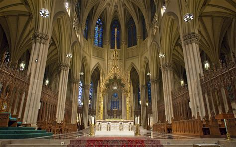 New York St Patrick Cathedral Wallpapers   HD Wallpapers