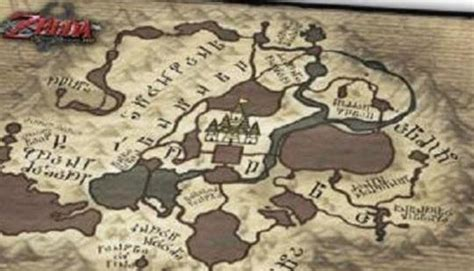 A look at the exclusive cloth map in Legend of Zelda