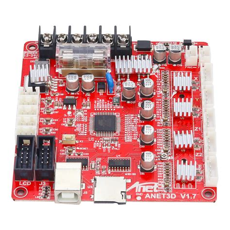anet® upgraded e16 a8 mainboard motherboard support reprap