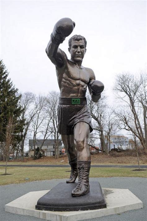 3 years later, Rocky Marciano statue still stands alone