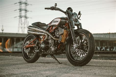 The Indian Scout FTR1200 Custom is the Street-Legal Flat