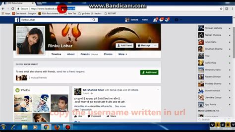 See friendship page of any two people on facebook - YouTube