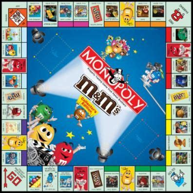 MONOPOLY: M's® Collector's Edition   USAopoly   Monopoly