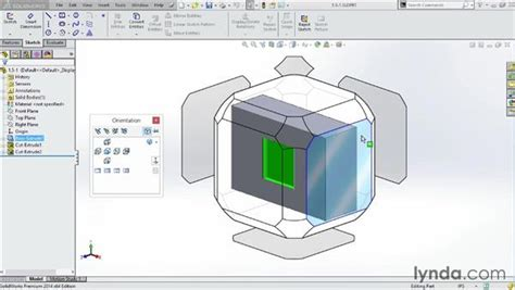 Working with the new view cube, or View Selector