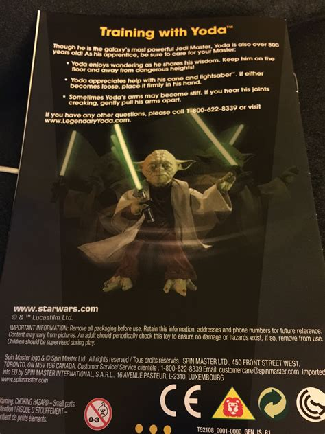 Star Wars Legendary Yoda From Spinmaster Will Kick Your Ass