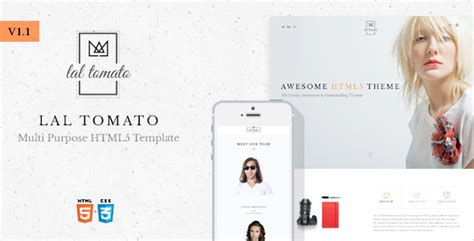 Lal Tomato | Multi-purpose HTML5 Template - Your Best Themes