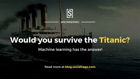 Would You Survive the Titanic? A Guide to Machine Learning