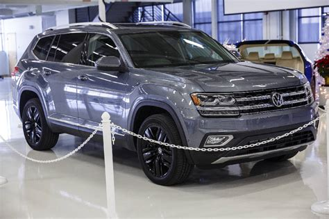 VW prices Chattanooga-made Atlas SUV to be competitive