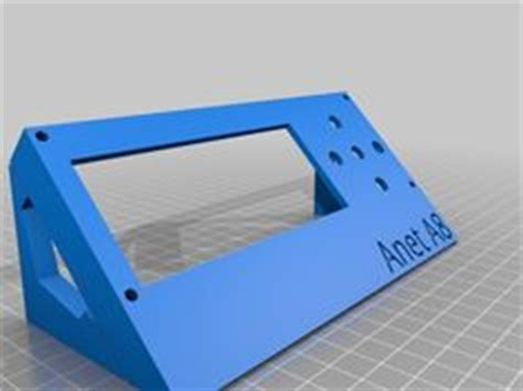 Anet A8 Probe Bracket for anet official sensor and marlin