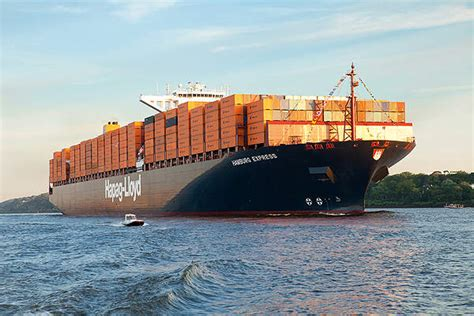 The world's biggest cargo container ships