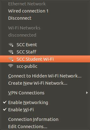 Connecting to Wi-Fi | Shoreline Community College