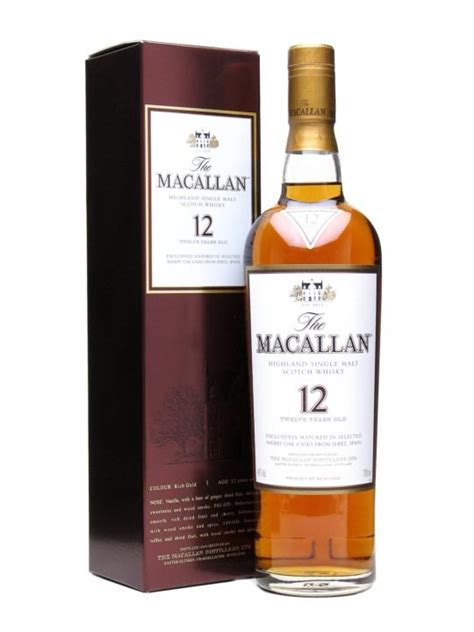 Scotch Review: The Macallan 12 Year - Fine Tobacco NYC