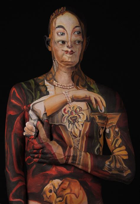 Ultimate Facepainting: Historical Paintings Recreated on
