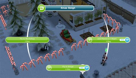The Sims Freeplay- The Great Xmas Mishap Quest 2014 – The