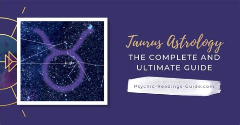 Taurus Facts: Traits, Compatibility, Love, Jobs - Psychic