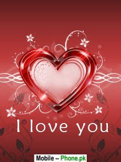 I love you heart Wallpapers Mobile Pics