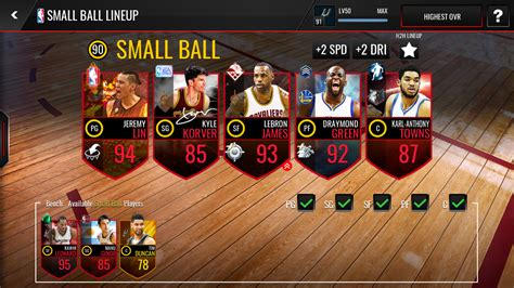 MinchMaster's 91 OVR Lineup (1/26/17) - Franchise