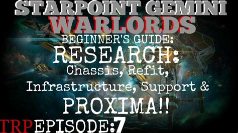 Starpoint Gemini Warlords Beginner's Guide EP7 Research