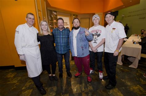 Chumlee and Terry Fator participate in Nacho Average