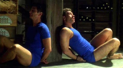 Guys in Trouble - Dominic Keating and Connor Trinneer in