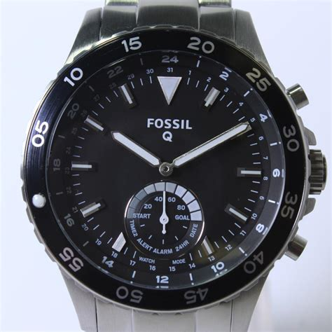 Men's Fossil Q Crewmaster Hybrid Smartwatch   Property Room