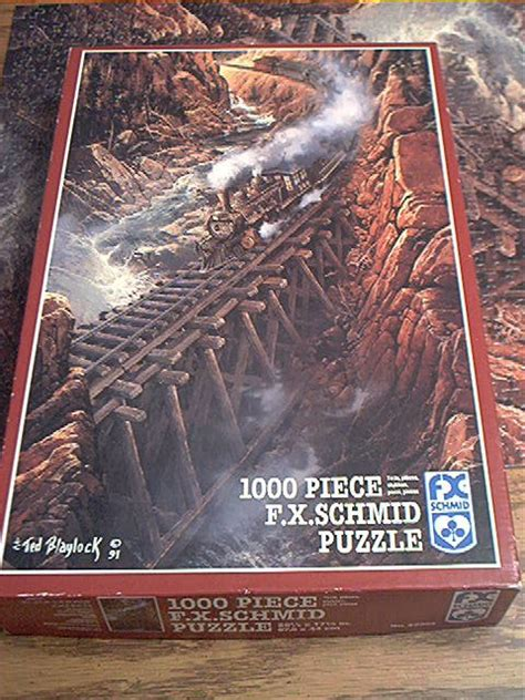 SCHMID 1000 PC JIGSAW PUZZLE ~TED BLAYLOCK~BLACK CANYON