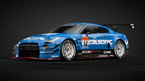 CALSONIC IMPUL GT-R 2017 カルソニック - Car Livery by