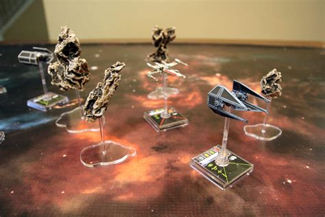 Level Up My Game: X-Wing Miniatures Terrain   Board Game Quest
