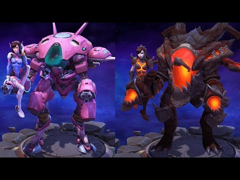Heroes of the Storm skins reveal a love for classic anime