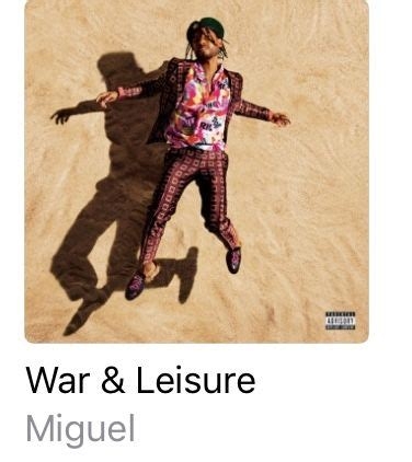 Pin by JustTayhoney💛 on Miguel   War, Leisure, Cover art