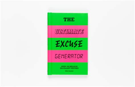 The Ultimate Excuse Generator - Laurence King Verlag GmbH