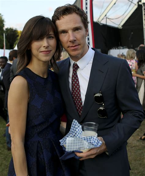 Fichier:Sophie Hunter and Benedict Cumberbatch July 2015