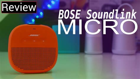 Bose Soundlink Micro Review - Tiny, But Sounds ALMOST As