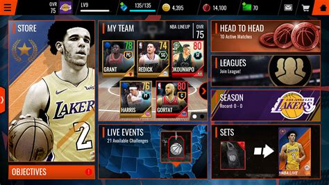 Legends: Lonzo Ball and Patrick Ewing - NBA Live Mobile