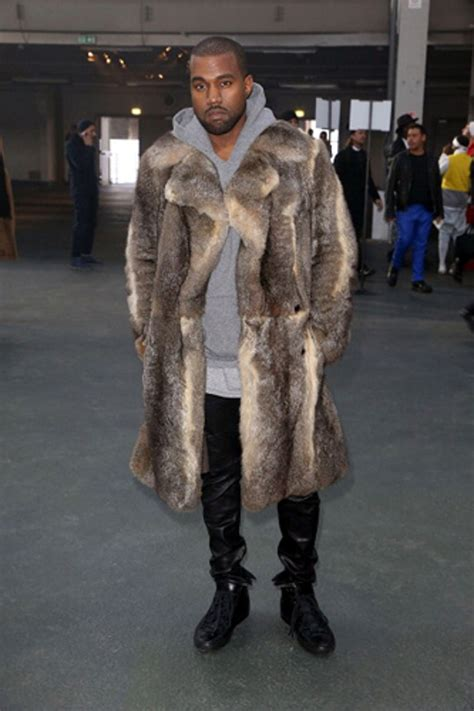 See How Kanye West Predicted 2014's Fur Trend | GQ