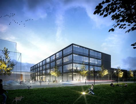 HENN Architekten Win Competition for New Building at