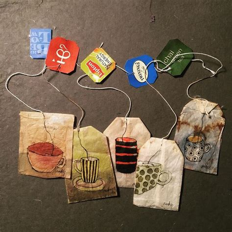 363 Days Of Tea: I Draw On Used Tea Bags To Spark A