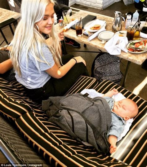Louis Tomlinson shares Instagram picture of his baby son