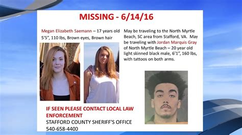 Missing Virginia teen believed to be on her way to North