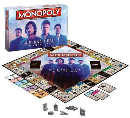 MONOPOLY: Supernatural Collector's Edition   700304047205