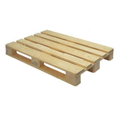 4 Way Brown Jungle Wooden Euro Pallet for Packaging, Rs