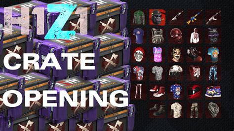 H1Z1: KOTK - 2016 Invitational Gold Crate Opening! HOW