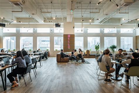 A Tour of WeWork's New Coworking Campus in Seoul